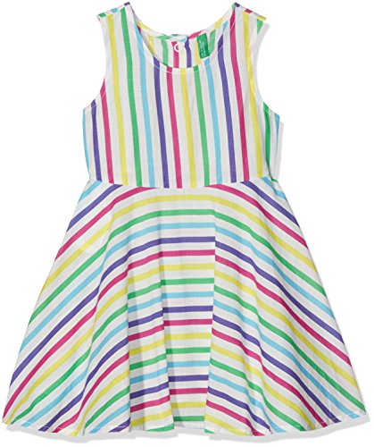 united-colors-of-benetton-girls-dress-multicoloured-3-4-years