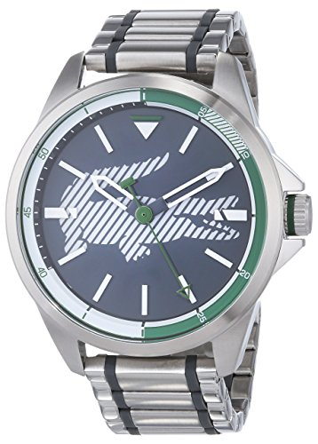 Lacoste Unisex-Adult Analogue Classic Quartz Watch with Stainless Steel Strap 2010943