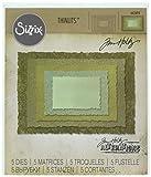 Sizzix 662694 Fustella Thinlits Cornice in Sequenza di Tim Hol, Acciaio, 19.101 x 14.4 x 0.4 cm