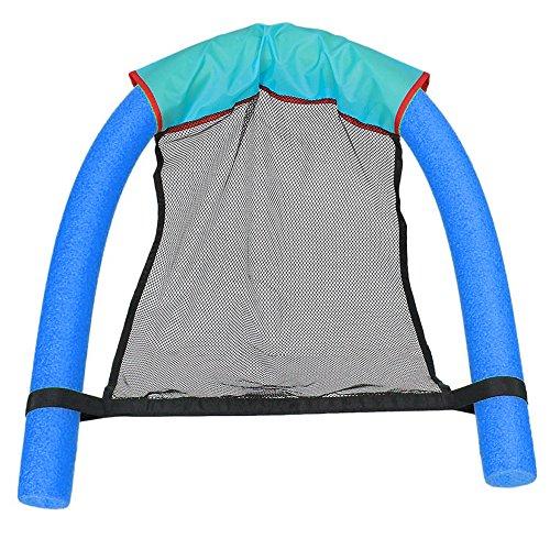 Schwimmender Stuhl Pool Freizeit Schaumstoff Schwimmsitz Pool Ergonomische Liege Kissen Floats Stuhl Kinderspielzeug Schwimmen Lernen Fitness Für Kinder Erwachsen Blau