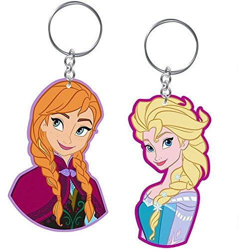 Preisvergleich Produktbild 2 Schlüsselanhänger Set - Frozen / Die Eiskönigin - Anna & Elsa - Disney