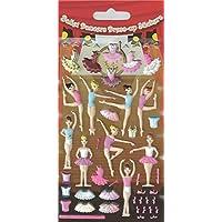 Paper Projects Ballerinas Kidscraft Foam Sticker Sheet - Party Loot Bag Filler