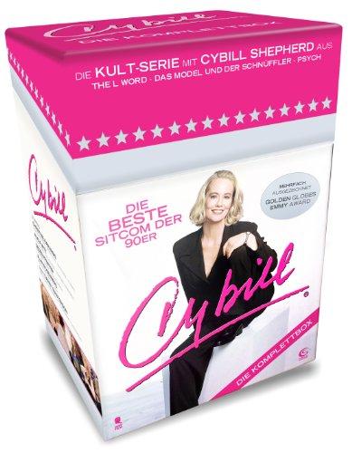 Cybill- Die Komplettbox mit 87 Folgen auf 15 DVDs (Cigarette Box mit Episodenguide, Autogrammkarte und Puzzle-Poster aus den Karton-Sleeves / limitiert)
