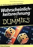 Wahrscheinlichkeitsrechnung für Dummies by Deborah Rumsey, Reinhard Engel