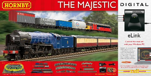 Hornby The Majestic With E-Link Dcc 00 Gauge Electric for sale  Delivered anywhere in Ireland
