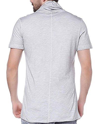 Redbridge Herren Swag Oversize T-shirt Men´s Shirt M1022 Grau