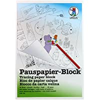 Ursus 7034600 - Bloc de papel para calcar, A4, 50 hojas, 5 capas