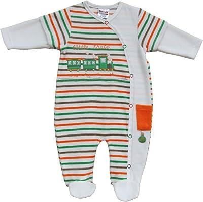Schnizler Pyjama Overall Nicki Little Train - Pijama Bebé-Niños