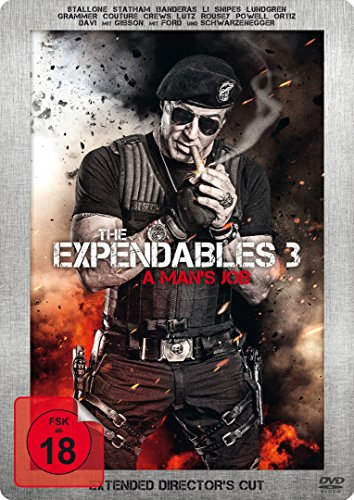 Bild von The Expendables 3 - A Man's Job (Extended Director's Cut, Limited Edition, Steelbook)