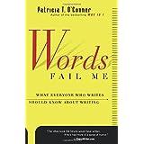 Words Fail Me (Harvest Book)