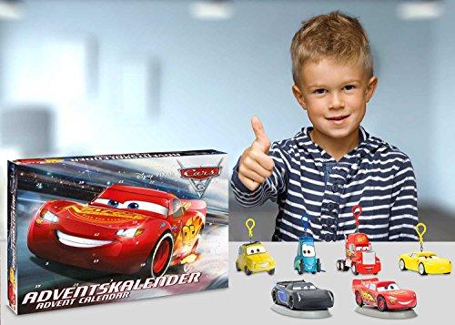 Cars Weihnachtskalender.Craze 57361 Adventskalender Disney Pixar Cars 3 Buy Online In