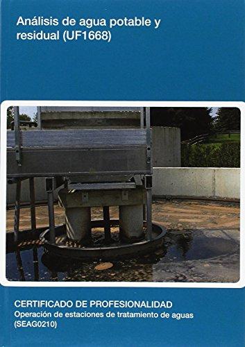 Análisis de agua potable y residual  (UF1668) (Medioambiente) por Sergio López Del Pino