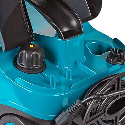 Bort-Dampfreiniger-BDR-2300-R-mit-14-Zubehrteilen-2100-W-15l-Wassertank-30min-kontinuierliche-Nutzung-15m-Schlauch-fr-Bad-Fliesen-Boden-Teppich-Autositze