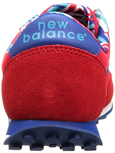 New Balance 410, Baskets Basses Femme Rouge (Red)