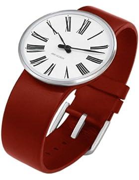 Rosendahl Unisex-Armbanduhr Analog Edelstahl weiss 43465