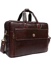 Hammonds Flycatcher Leather 20 Ltrs Brown Messenger Bag