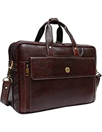 Hammonds Flycatcher Leather 20 Ltrs Brown Briefcase