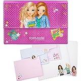 Top Model - Clasificador y conjunto de papel de cartas, color morado
