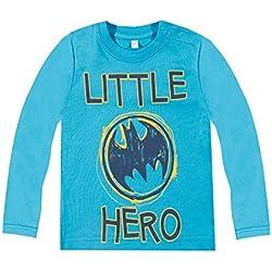 camiseta de batman para niñosCamiseta mangas largas - Azul - 92