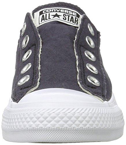 Converse Chuck All Star Sneaker Slip Schwarz (grau blau)
