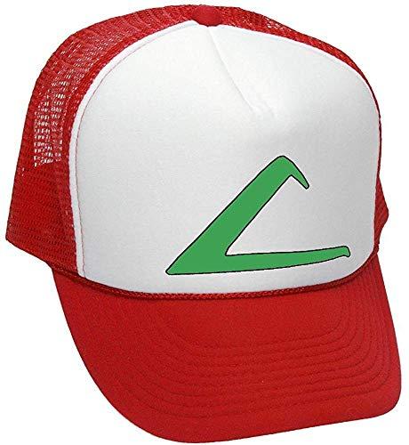 osplay Costume Trainer Cartoon Fun - Unisex Adult Trucker Cap Hat Red ()
