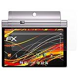 Lenovo Yoga Tab 3 Pro 10 Displayschutzfolie - 2 x atFoliX FX-Antireflex-HD hochauflösende entspiegelnde Schutzfolie Folie