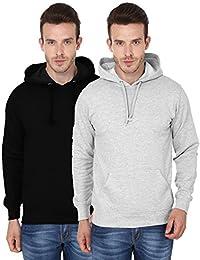 2 Pack Combo Men's Hooded Sweatshirt