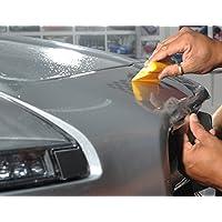 Película transparente protectora para parachoques de coche, ideal para evitar arañazos sobre la pintura