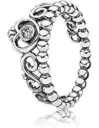 Pandora Damen-Ring 925 Sterling Silber Zirkonia weiß 190880CZ