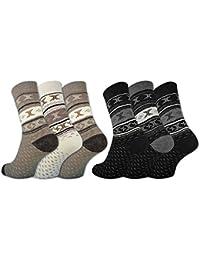 6 oder 12 Paar Damen THERMO Socken Vollfrottee Winter Damensocken Baumwolle - 38766 - sockenkauf24