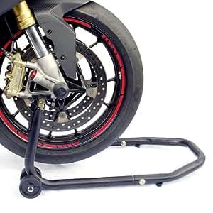 racefoxx motorrad montagest nder universal vorne vorderrad. Black Bedroom Furniture Sets. Home Design Ideas