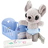 Depesche 8877–Peluche–House of Mouse, Baby Ratón chico, aprox. 13cm