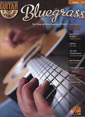 Bluegrass: Noten, CD, Tabulatur für Gitarre (Guitar Play-along, Band 77)