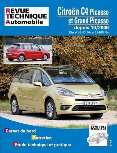 Rta B723.7 Citroën C4 Picasso Diesel 1.6 Hdi et 2.0 Hdi 10/06> par ETAI