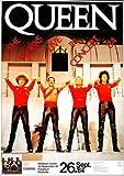 TheConcertPoster Queen - The Works Live, Frankfurt 1984 |