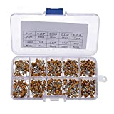 FDBF 500pcs 0.1uF-10uF(104~106) 50V Multilayer Ceramic Capacitors Assorted Kit