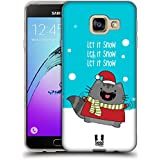 Head Case Designs Let It Snow Noël De Wilbur Étui Coque en Gel molle pour Samsung Galaxy A3 (2016)