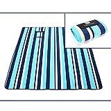 GGATT Wasserdicht Picknick-Matte, Extra groß Sandfreie Tragbar für Stranddecke Campingdecke Strandtuch Outdoordecke Camping Picknick Reise 200 x 200CM