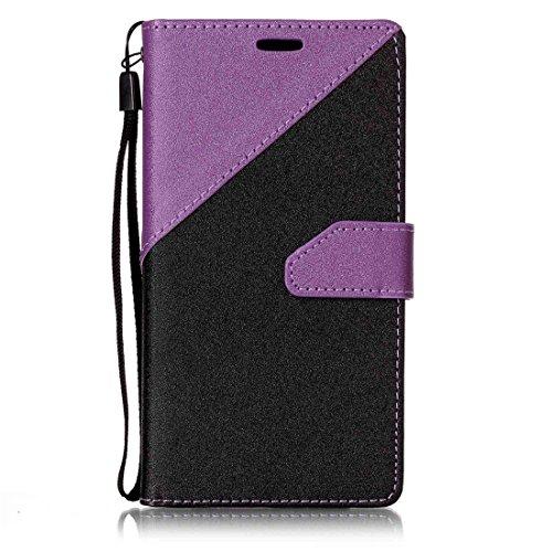 Nancen Samsung Galaxy J5 Prime G570 (5 Zoll) Hülle PU Leder Tasche Schutzhülle Flip Case Wallet für, Magnetverschluss Standfunktion Brieftasche und Karten Slot , Taschen & Schalen (Handy Zoll Unlocked Samsung 5)