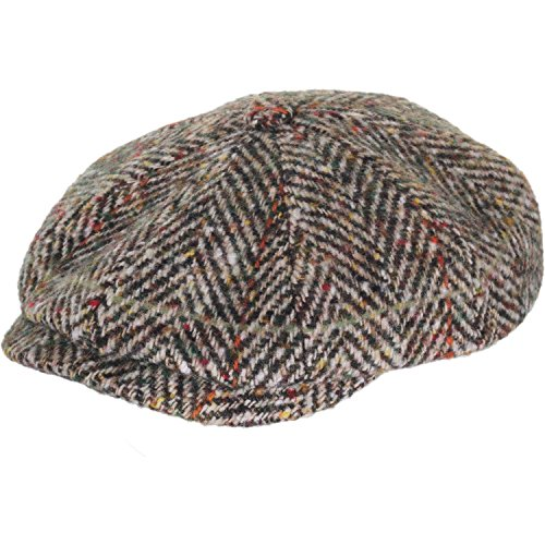 stetson-mens-virgin-wool-herringbone-hatteras-cap-59cm-l-cream