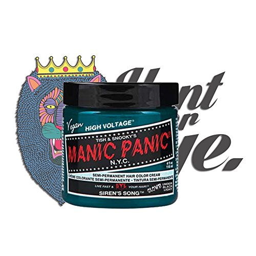 Manic Panic High Voltage Classic Creme Formel Haarfarbe 118ml (Siren\'s Song)