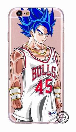 Coque Iphone 5 Nba - Coque iPhone 5/5S NBA Bulls Super Sayan