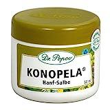 Hanf Salbe Konopela von Dr. Popov, 50ml, aus Cannabis Seed Öl zur natürlichen Beruhigung und zum Schutz der Haut gegen Juckreiz und Entzündungen