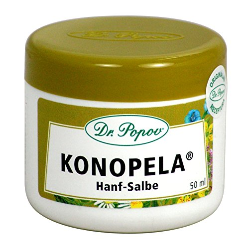 "#Hanf Salbe ""Konopela®"" Natur Originalkräutersalben des Dr. Popov 50ml#"