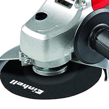 Einhell TC-AG 125 Radial angular , diámetro de 125 mm, sin disco de corte, 850 W, 230 V, color rojo y negro (ref. 4430619)
