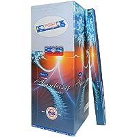 Preisvergleich für Räucherstäbchen 250g Satya Fantasy 25 Schachteln zu je 10g Nag Champa Duft Wohnaccessoire Raumduft