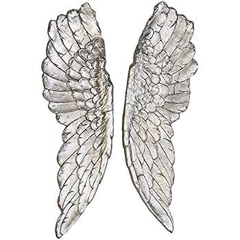 Engelsflügel Wanddeko Flügel Engelflügel Wanddekoration Deko gold Länge 54 cm