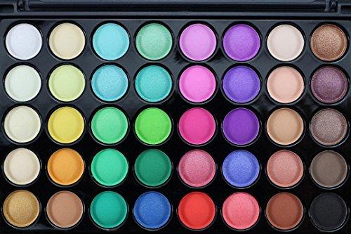 40 Colores CosméTicos En Polvo Sombra De Ojos Paleta Maquillaje Conjunto Mate Disponible