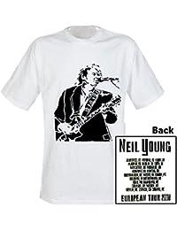 Camiseta Neil Young, Motivo : Tour 2008