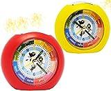 Unbekannt Kinderwecker / Lernwecker -  mit LICHT + -1 Minuten Schritten  - Anzeiger - für Kinder Wecker - Alarm für Mädchen - Analog Lernuhr - Schulanfang / Schultüte..